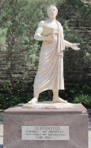 Herodotus: first to write history