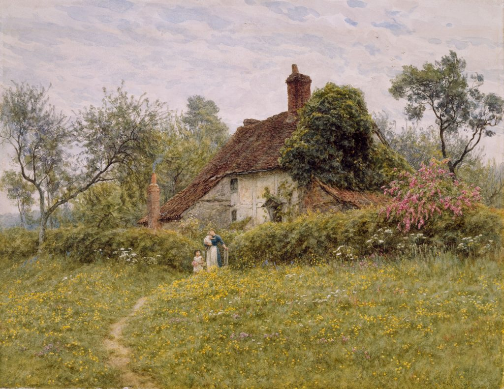English Country Garden and Cottage - a fitting metaphor for how Plutarch's style can sound and feel in English translation.