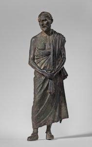 statue of demosthenes