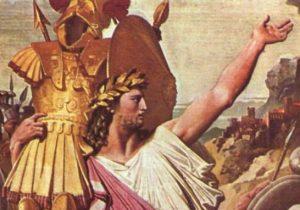 Romulus in Triumph